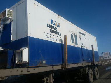 Перевозка габаритного вагона для компании Baker Hughes