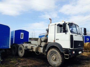 Перевозка (буксировка) вагон-дома на Унтыгейское месторождение, ХМАО-Югра
