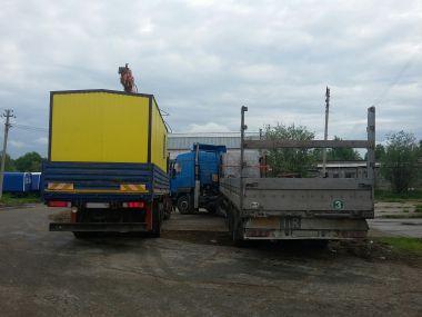 Перевозка бытовок на Бахиловское месторождение, ХМАО-Югра