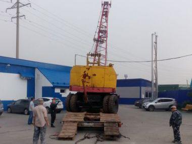 Перевозка самоходного крана КС-4361А