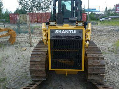 Перевозка габаритного бульдозера SHANTUI SD16