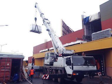 Услуги автокрана грузоподъемностью 80 тонн