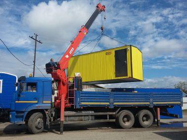 Перевозка вагон-дома на Западно-Салымское месторождение