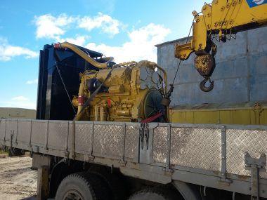 """Перевозка двигателя Caterpillar C-27  на базу ООО """"БВС Евразия"""" в г. Когалым"""