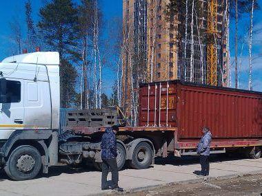 Перевозка 40-футовых контейнеров в г.Когалым