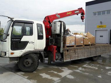 Доставка расходных материалов на Усть-Тегусское месторождение, Уватский район